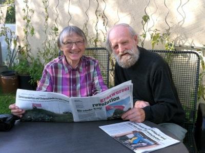 Helga Weber und Wolfgang Zucht (Foto: Ilka Anger)