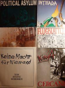 Sechs Cover anarchistischer Bands