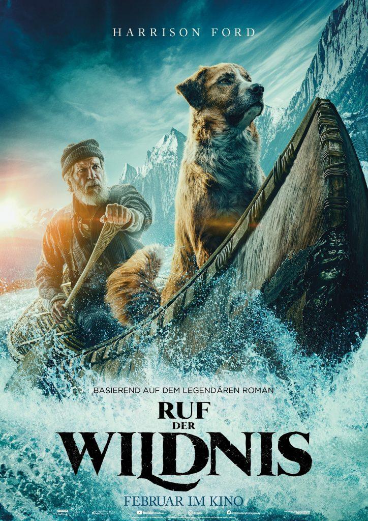 Ruf der Wildnis Disney Plakat