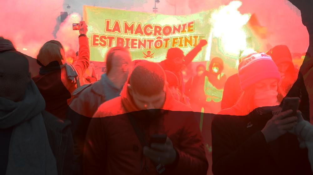 Frankreich: Streikaktionen, Blockaden, Sabotage