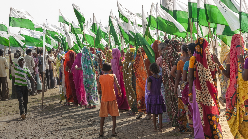 Die Landrechtebewegung in Indien