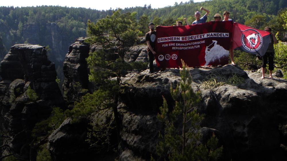 Die Schwarz-Roten Bergsteiger_innen