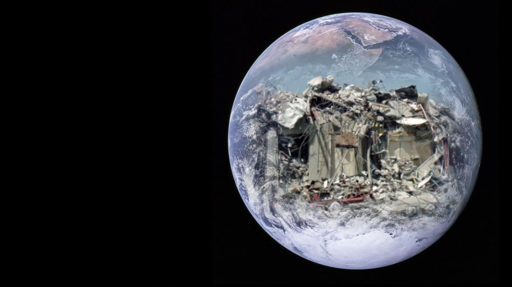 Erscheinungen des weltweiten Zusammenbruchs